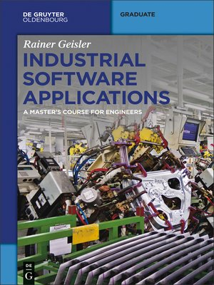 cover image of Industrial Software Applications