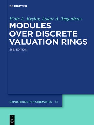 cover image of Modules over Discrete Valuation Rings