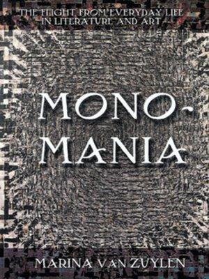 cover image of Monomania