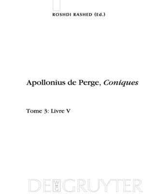 cover image of Livre V. Commentaire historique et mathématique, édition et traduction du texte arabe
