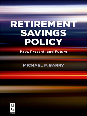 cover image of Retirement Savings Policy