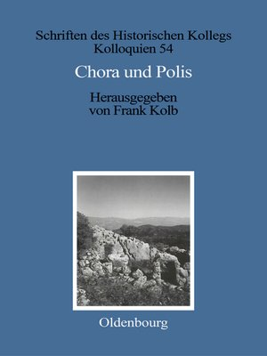 cover image of Chora und Polis