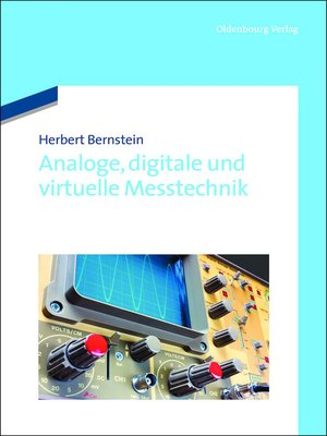 cover image of Analoge, digitale und virtuelle Messtechnik