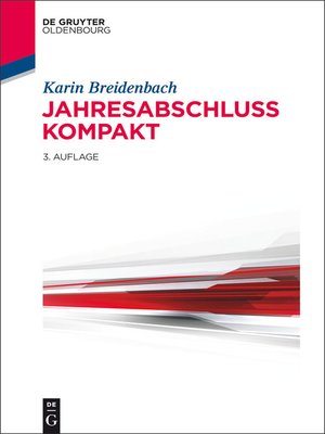 cover image of Jahresabschluss kompakt