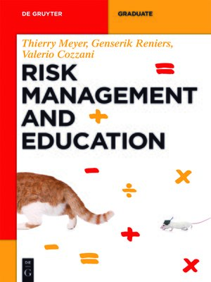 cover image of Risk Management and Education