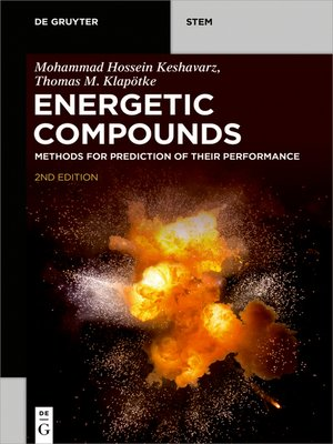cover image of Energetic Compounds