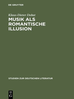 cover image of Musik als romantische Illusion