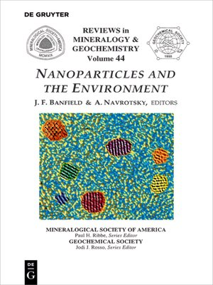 cover image of Nanoparticles and the Environment