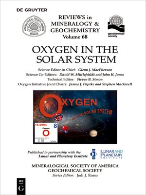cover image of Oxygen in the Solar System
