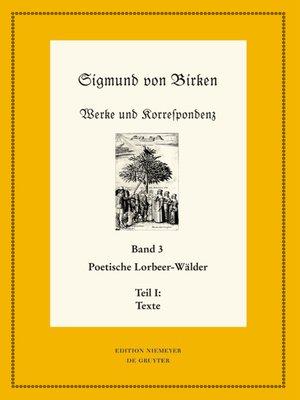 cover image of Poetische Lorbeer-Wälder