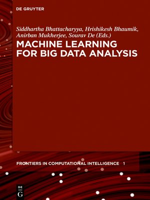 cover image of Machine Learning for Big Data Analysis