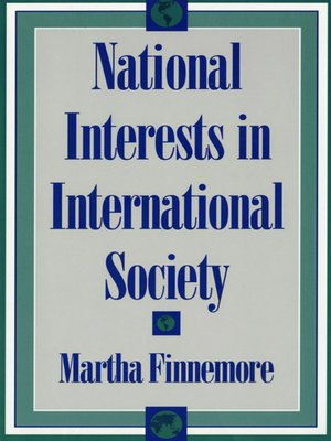 cover image of National Interests in International Society