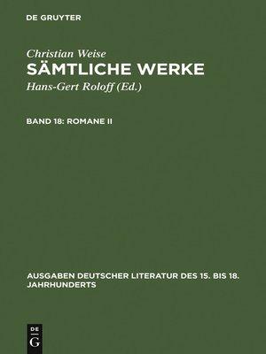 cover image of Romane II