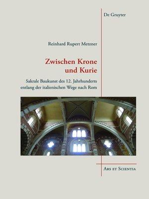 cover image of Zwischen Krone und Kurie