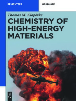 cover image of Chemistry of High-Energy Materials