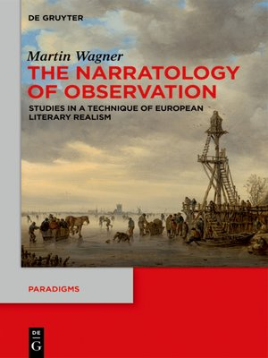 cover image of The Narratology of Observation