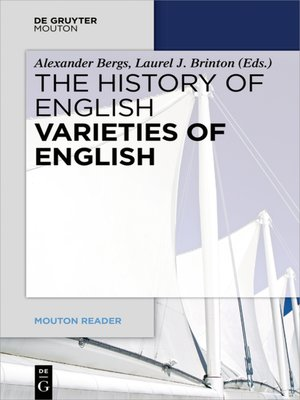cover image of Varieties of English