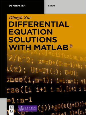 cover image of Differential Equation Solutions with MATLAB®