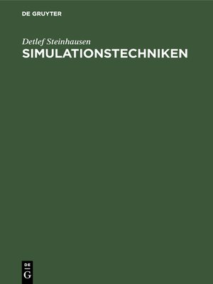 cover image of Simulationstechniken