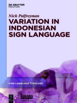 cover image of Variation in Indonesian Sign Language