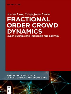 cover image of Fractional Order Crowd Dynamics