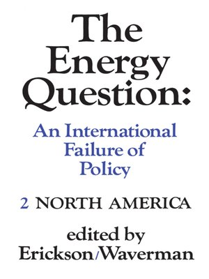 cover image of The Energy Question Volume Two