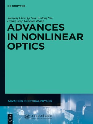 cover image of Advances in Nonlinear Optics