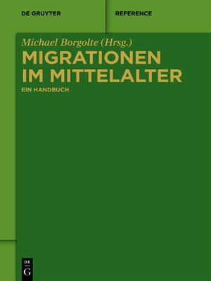 cover image of Migrationen im Mittelalter