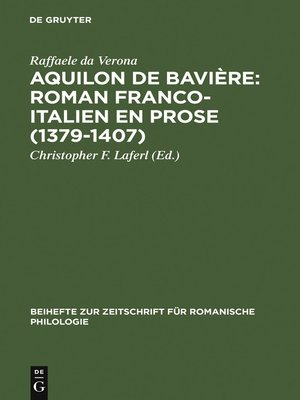 cover image of Aquilon de Bavière