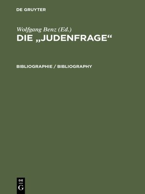 cover image of Bibliographie