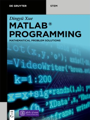 cover image of MATLAB Programming