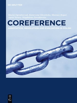cover image of Coreference