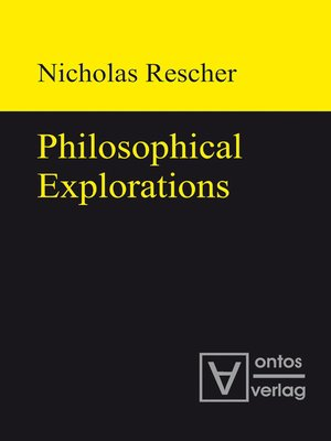 cover image of Philosophical Explorations