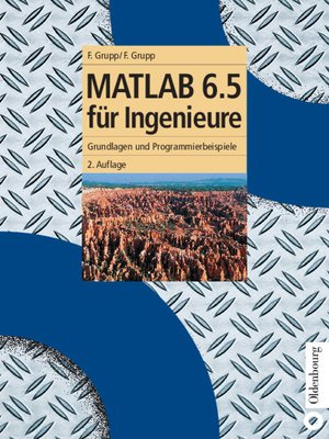 cover image of MATLAB 6.5 für Ingenieure