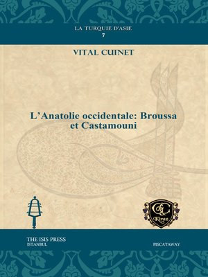 cover image of L'Anatolie occidentale