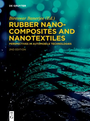 cover image of Rubber Nanocomposites and Nanotextiles