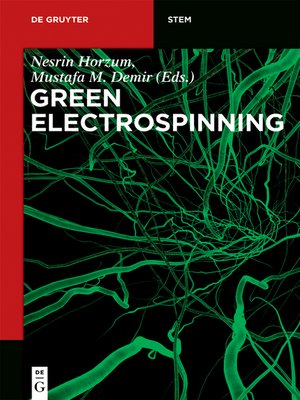 cover image of Green Electrospinning