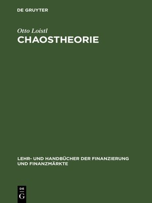 cover image of Chaostheorie