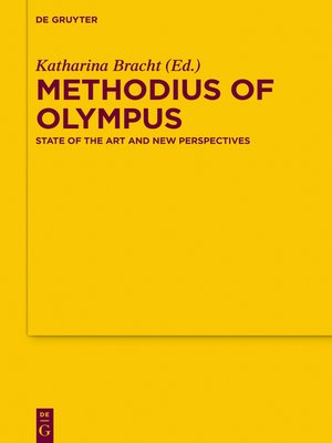 cover image of Methodius of Olympus