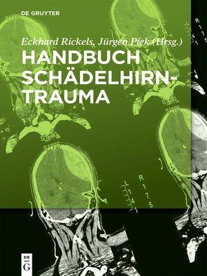 cover image of Handbuch Schädelhirntrauma
