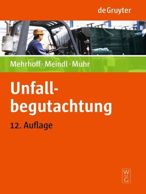 cover image of Unfallbegutachtung