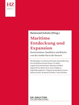 cover image of Maritime Entdeckung und Expansion