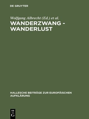 cover image of Wanderzwang--Wanderlust