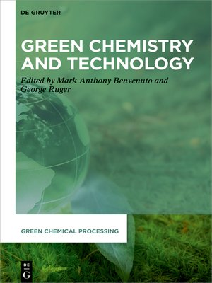 cover image of Green Chemistry and Technology