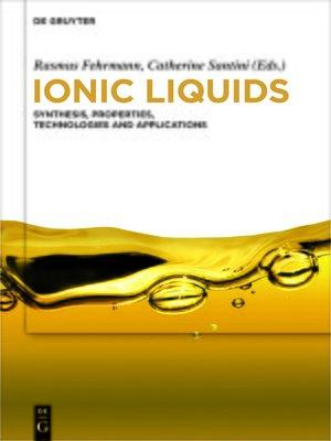 cover image of Ionic Liquids