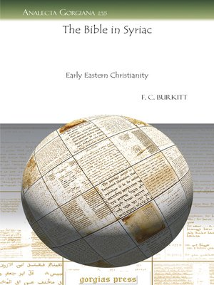 cover image of The Bible in Syriac