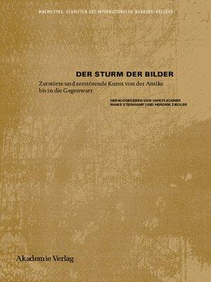 cover image of Der Sturm der Bilder