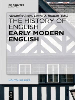 cover image of Early Modern English