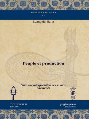 cover image of Peuple et production