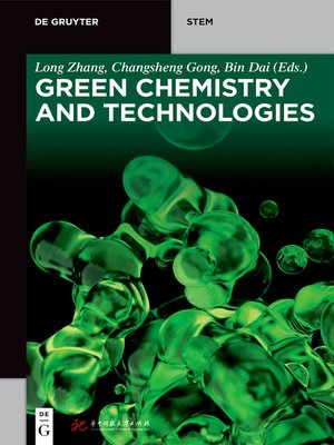 cover image of Green Chemistry and Technologies